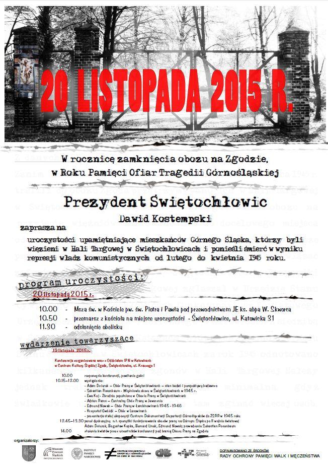 Konferencja Naukowa W Ramach Obchodów Roku Pamięci Ofiar