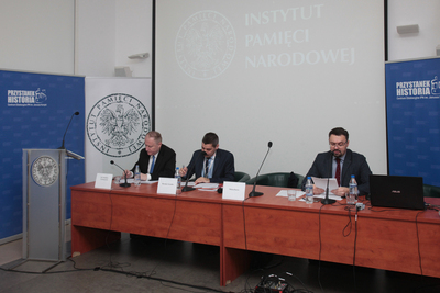 "International Conference ""Communist parties on the road to full power (after World War II)"" – 6 December 2018. Fot. Piotr Życieński (IPN)"