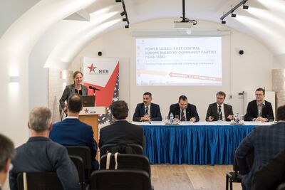 "International Conference ""Power seized. East-Central Europe Ruled by Communist Parties (1948–1956)"" – Budapest, 3–4 October 2019. Fot. NEB"