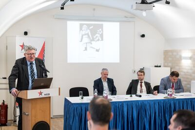 "International Conference ""Power seized. East-Central Europe Ruled by Communist Parties (1948–1956)"" – Budapest, 3–4 October 2019. Fot. NEB International Conference ""Power seized. East-Central Europe Ruled by Communist Parties (1948–1956)"" – Budapest, 3–4 October 2019. Fot. NEB"