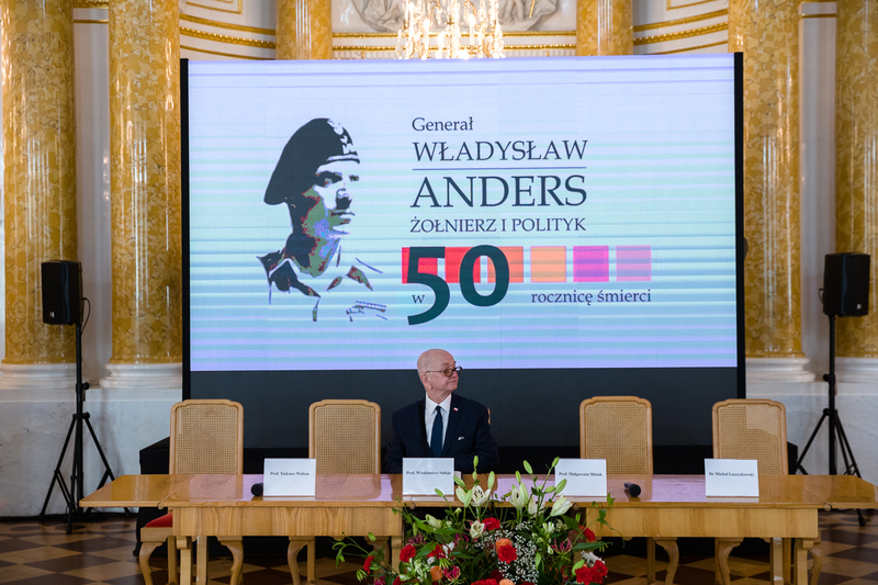 "The opening of the scientific conference  ""General Władysław Anders. A soldier and a politician – on the 50th anniversary of his death""– the Royal Castle in Warsaw, 8 September 2020"