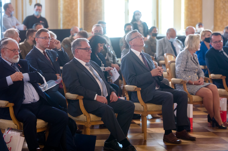 "Deputy President of the IPN, Jan Baster at the opening of the scientific conference  ""General Władysław Anders. A soldier and a politician – on the 50th anniversary of his death""–"