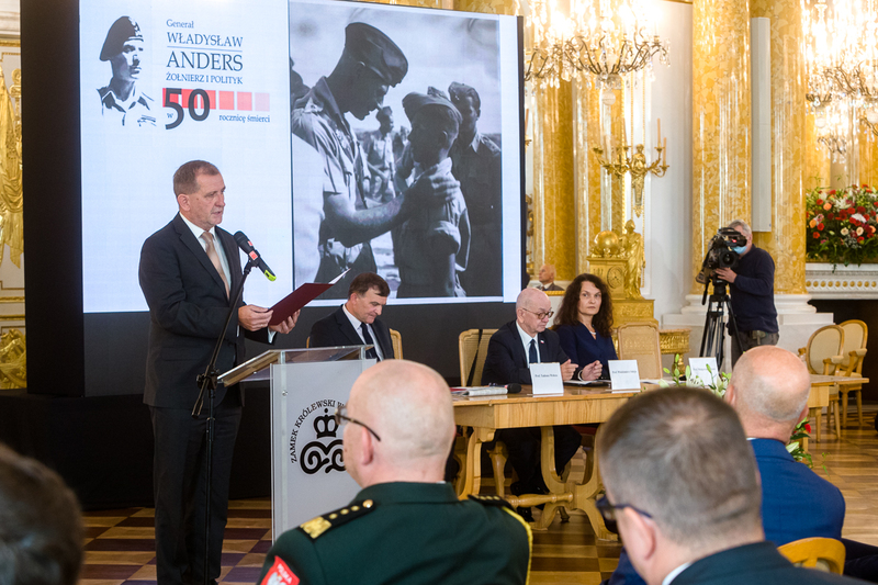 "Scientific conference ""General Władysław Anders. A soldier and a politician – on the 50th anniversary of his death"""