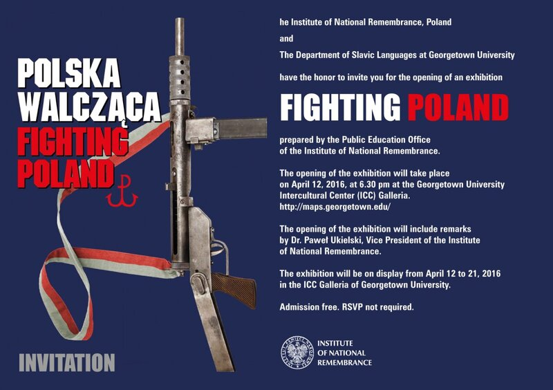 "Poster ""Fighting Poland"""
