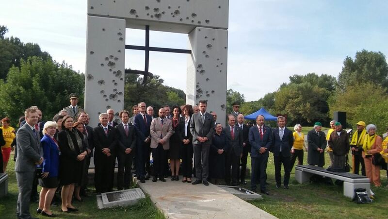 Celebration of the European Day of remembarnce for the Victims of Totalitarian Regimes – Bratislava 2016