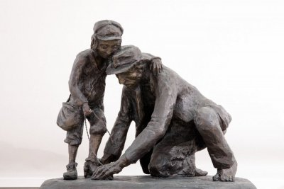 Ordered to remove their shoes , Bronze 2002