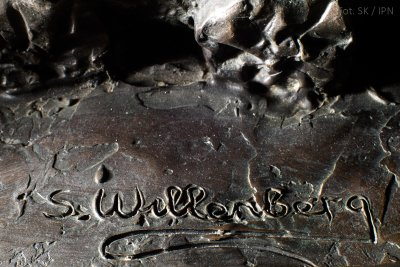 WILLENBERG'S SIGNATURE IN BRONZE