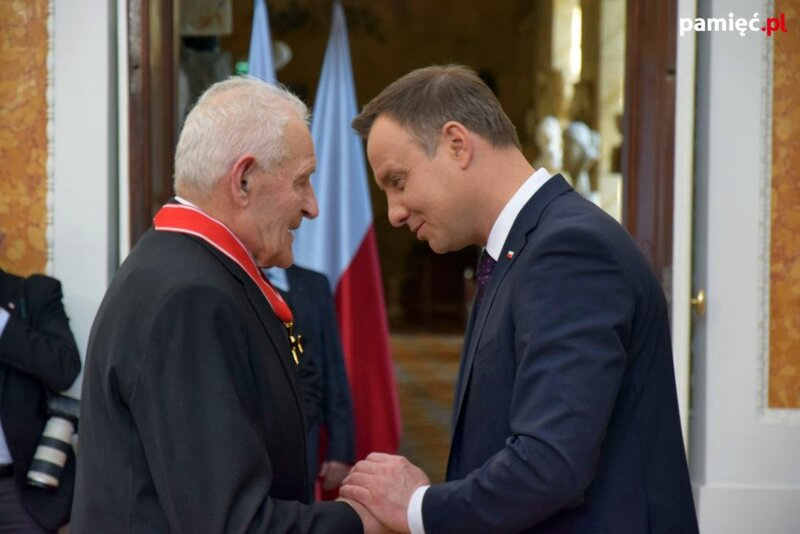 17 March 2016, The awarding of state distinctions to Poles who sawed Jews in Łańcut