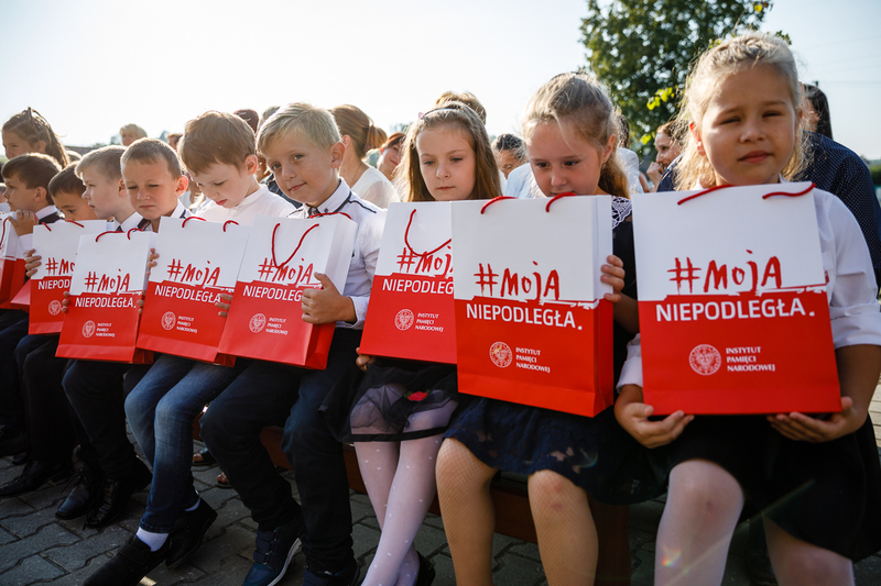 Inauguration of the new school year in Stróża