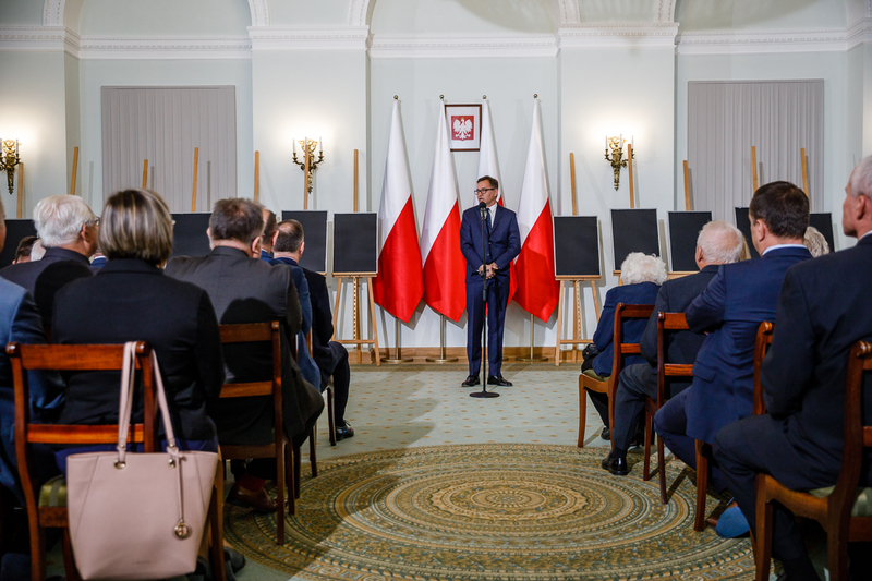 The ceremony of handing out identification notes at the Presidential Palace - Warsaw, 4 October 2018. Photos: Sławek Kasper (IPN)