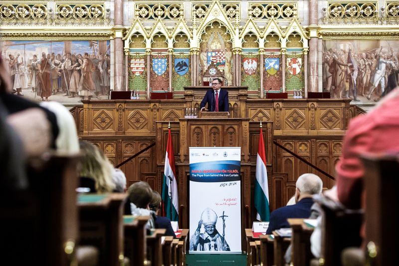 """The Pope from Behind the Iron Curtain"" conference, Budapest 12 October"