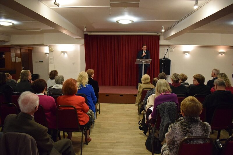 Lecture by Dr Jarosław Szarek, President of the IPN, at the Polish Library POSK in London, 21 October 2019 Lecture by Dr Jarosław Szarek, President of the IPN, at the Polish Library POSK in London, 21 October 2019