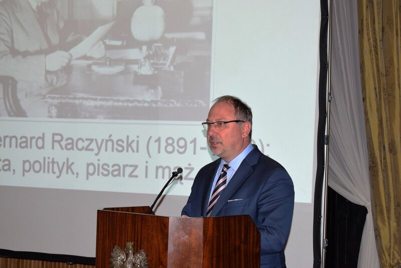 The conference was opened by Arkady Rzegocki, Polish Ambassador to the United Kingdom