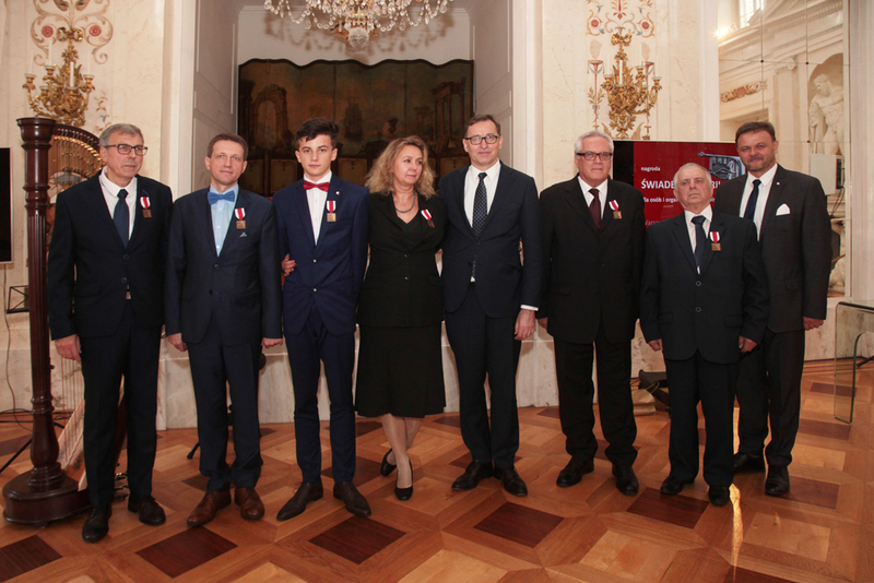 """Witness of History"" awards for laureates from outside Poland - Warsaw, 24 October 2018. Photos: Piotr Życieński (IPN)"