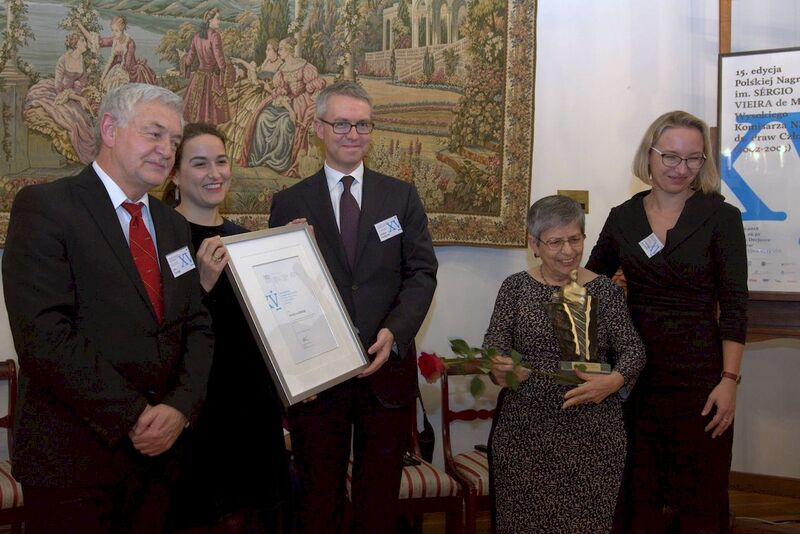 The Polish Prizes of Sérgio Vieira de Mello awarded