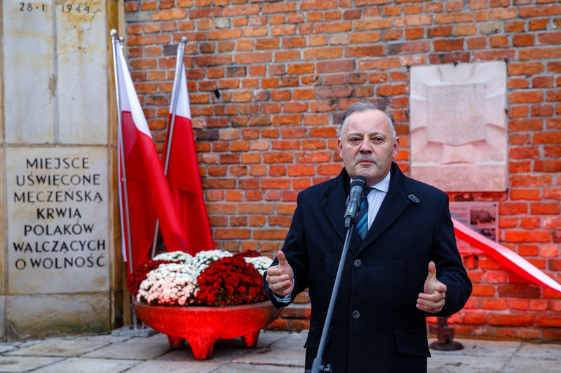 "Inauguration of the ""Plaques of Remembrance"" project - Warsaw, 26 October 2018. Photos: Sławek Kasper (IPN)"