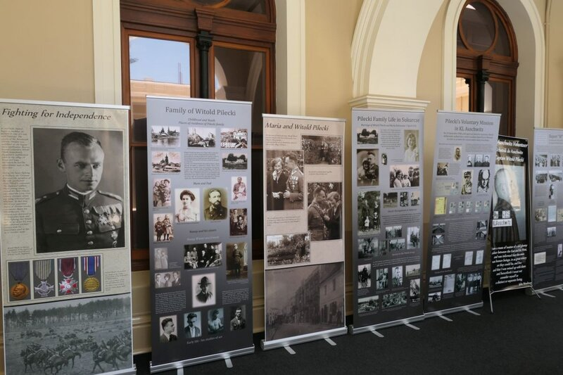 "The opening of the ""Time for Heroes"" exhibition in the Western Australian Parliament in Perth - 9 November 2018"