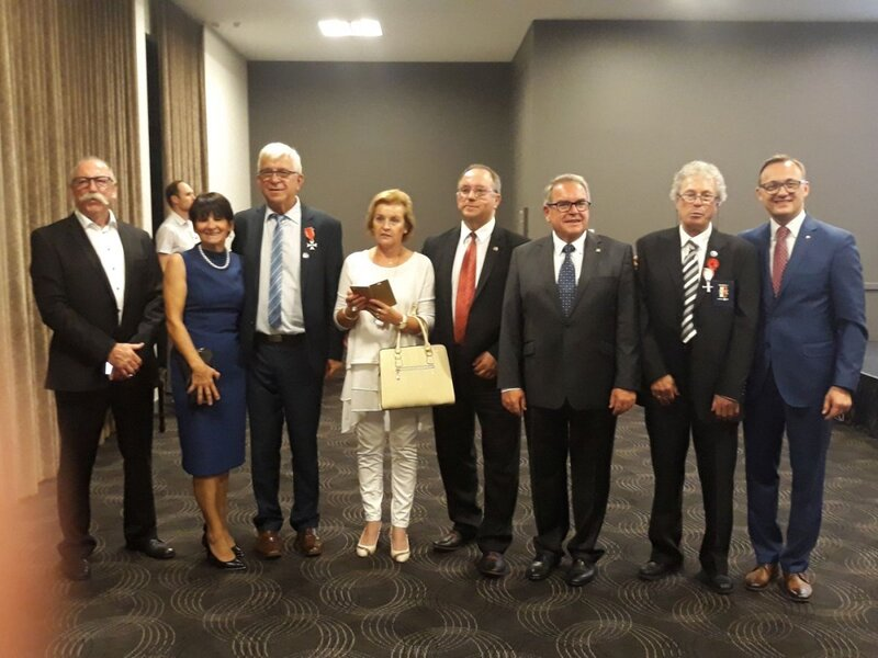 Representatives of the General Sikorski Club. Gala in Perth, 8 November 2018