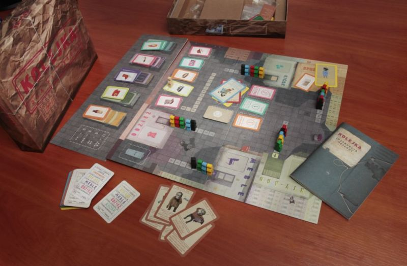 """The Queue"" board game"