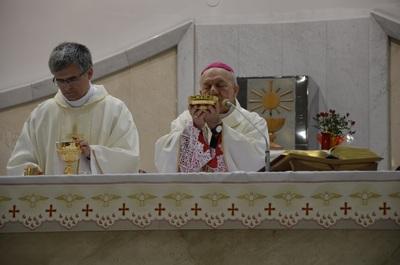 Msza święta koncelebrowana pod przewodnictwem ks. bp. Edwarda Frankowskiego