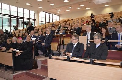 Konferencja poświęcona świadkom historii abp. Ignacemu Tokarczukowi i bp. Edwardowi Frankowskiemu